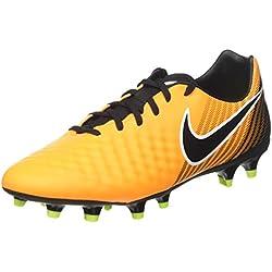 Nike Magista Onda II FG, Botas de fútbol para Hombre, Naranja (Laser Orange/Black Volt/White), 43 EU