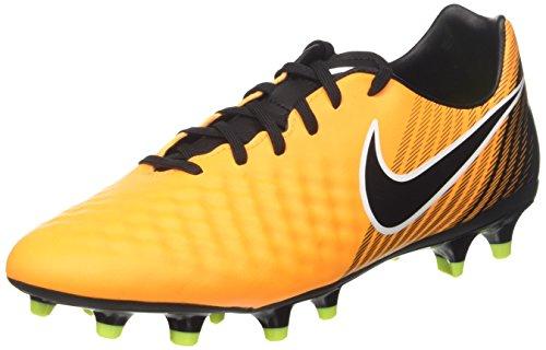 Nike Magista Onda II FG, Botas de fútbol para Hombre, Naranja Laser Orange/Black/White/Volt/White...