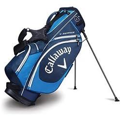 Callaway X Seri Stand Bolsa para Palos de Golf, Hombre, Azul / Azul Oscuro / Blanco, Talla Única