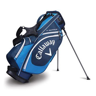 Callaway 2017 X Series Stand Bag Mens Golf Carry Bag-6 Way Top...