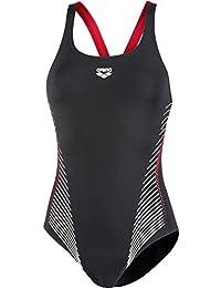 Weitere Wassersportarten arena Fluids One Piece Swimsuit Women navy-persian green 2018 Schwimmanzug blau