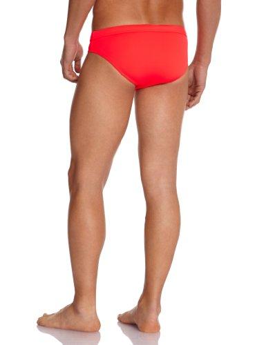 HOM Herren Badehose Marine Chic Swim Mini Briefs Rosso (Rouge (Rouge Vif))