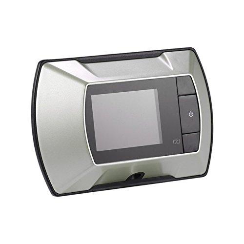 2.4 '' LCD Visual Monitor Porte Peephole Peep Hole Visionneuse Filaire Caméra Vidéo (Couleur: argent)