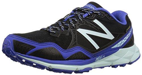 New Balance 910v3 Gore Tex, Scarpe da Trail Running Donna, Multicolore (Black/Blue), 39 EU