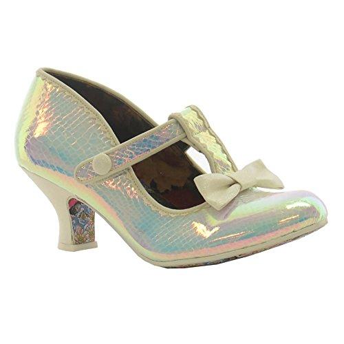 IRREGULAR CHOICE Irregular Choice Womens Shoe Lazy River Blue silver