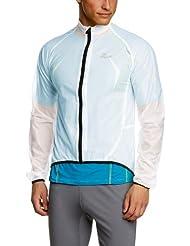 Rogelli - Chubasquero para hombre, talla XS, color transparente