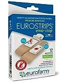 Eurostrips Emo-Stop (mm 31 x mm 72) Cerotti Sterili ad Azione Emostatica,Ideali per Interrompere Il Sanguinamento di…
