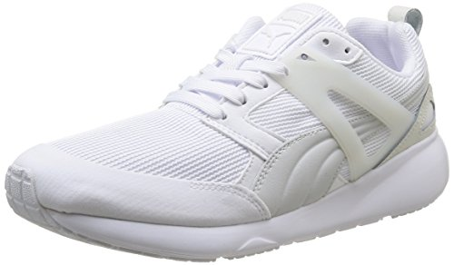 Puma  Arial, Sneakers basses mixte adulte Blanc (White)