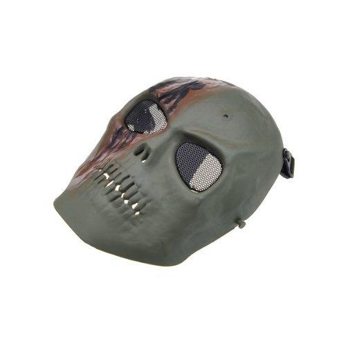 Totenkopf Airsoft Vollgesichtsmaske sicheren Schutz