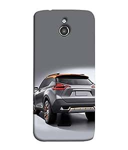 FUSON Designer Back Case Cover for InFocus M2 (Automobile Car Concept Drive Fuel)
