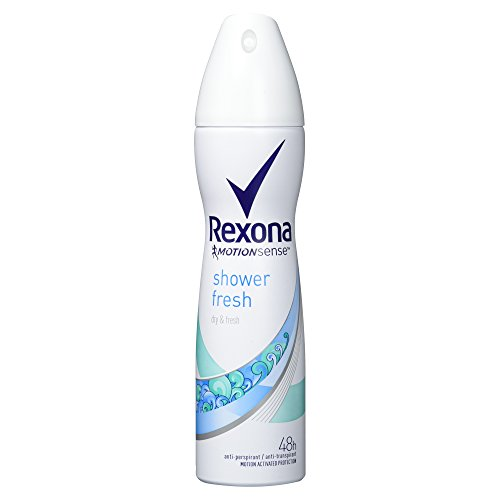 Preisvergleich Produktbild Rexona shower fresh Anti-Transpirant Deospray, 150 ml