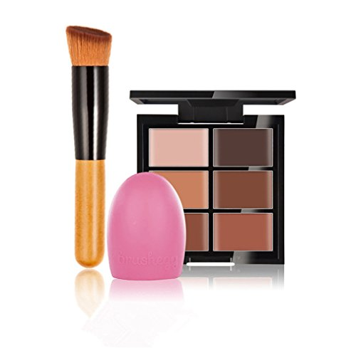 jascherry-pro-1-pcs-make-up-brushes-1-silicone-brushegg-6-colours-cream-concealer-camouflage-makeup-