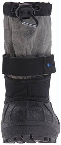 Columbia Toddler Powderbug Plus Winter Boot Black/Hyper Blue