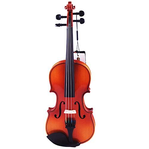 Violini Strumenti a Corda Acero Parti Professionale Accessorio Completo Commercio Equo e Solidale (Color : 4/4)