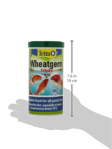 Tetra Pond Wheat Germ Sticks, Pond Fish Food Specially Formulated for Cold Weather Feeding, 1 Litre 4