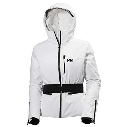 Helly Hansen Damen W Paradise Jacket Skijacke, Weiß, XL