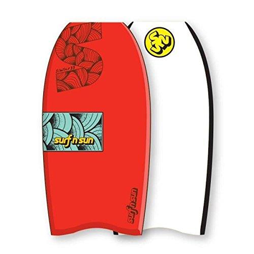 Surf & Sun Similar eps 37 Bodyboard, Rot/Blau