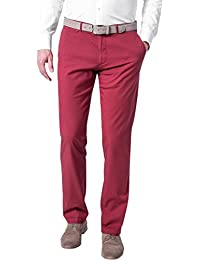 HUGO BOSS Herren Chino Hose, Größe: 54, Farbe: Rot