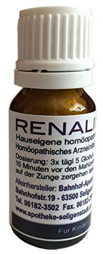 Renalind Globuli - 10 g - Niere - klassische Homöopathie aus deutscher Traditionsapotheke