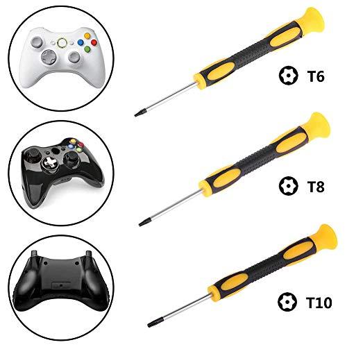 XQxiqi689sy Schraubendreher für Nintendo Xbox 360 PS3 / PS4 Controller, Einfarbig (Controller-einsätze 360 Xbox)