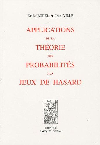 Applications de la thorie des probabilits aux jeux de hasard