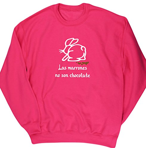 HippoWarehouse Las Marrones no son Chocolate jersey sudadera suéter derportiva unisex
