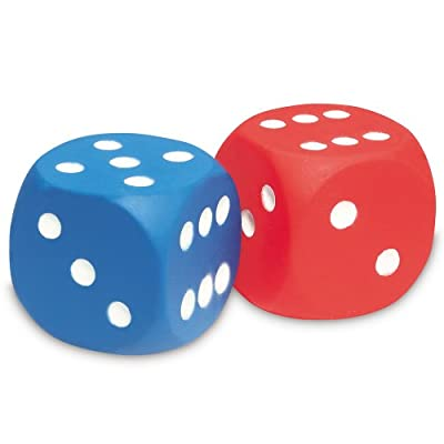 Learning Resources Foam Dot Dice by Learning Resources