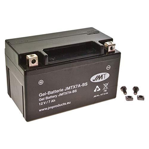 YTX7A-BS Gel Batterie für Stryker 125 Off Road Baujahr 2000-2005 von JMT Stryker Batterie