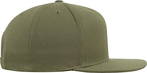 Flexfit Classic Snapback Cap, Mütze Unisex Kappe für Damen und Herren, One Size, plus extra Kindergröße Buck