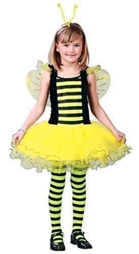 eißige Biene Tier Insekten Tutu Kleid Büchertag Kostüm Kleid Outfit 5-12 Jahre - Gelb, Gelb, 10-12 years (Busy Bee Kostüm)