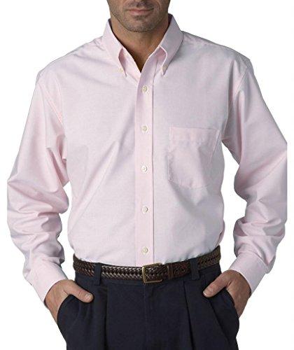 Langärmliges, faltenfreies Oxford Shirt für Herren Rose