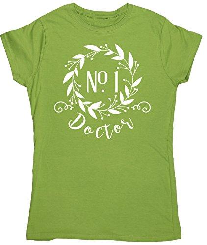 HippoWarehouse Damen T-Shirt X-Large Kiwi