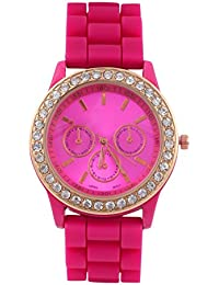 KMS Rani Round Dial Stylish Women Analog Watch