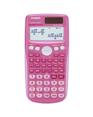 Casio FX 85 GT wissenschaftlicher Taschenrechner pink - UK Version, engl. Bedienungsanleitung