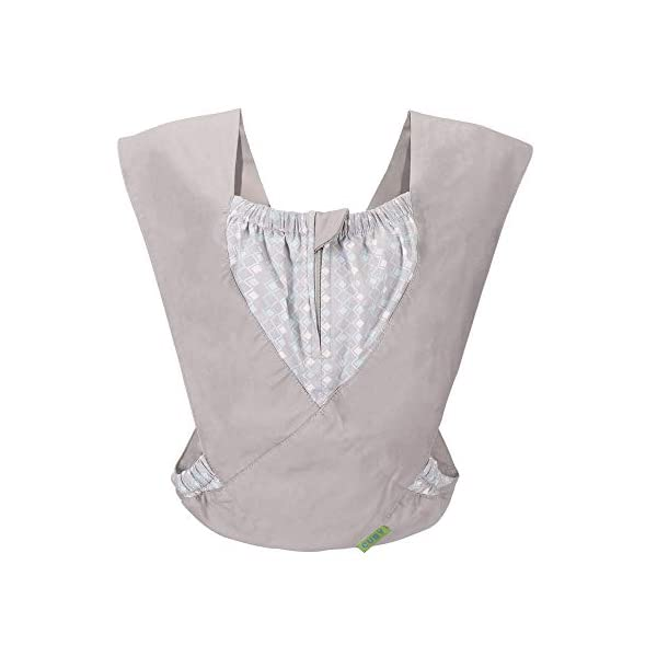 Cuby Best Organic Baby Carrier Cozy Cotton Baby Wrap X-Type Newborn Baby Sling Portabebe Ergonomica Kanguru Baby Carrier Rated (New Silver) VRbabies 💖ENJOY FREE HANDS AGAIN: Get your freedom back. Do housework, grab a coffee, shop & tend to other kids while keeping baby close. Baby stays happy while you're more productive & less stressed. Great for fussy babies! 💖STRENGTHEN BOND WITH BABY: Forging a close bond with your infant is vital to their development. Our baby carrier keeps baby close to your warm body & heartbeat where they feel safe & secure. For newborn - 35 lbs. 💖UNBEATABLE QUALITY: Manufactured with premium materials to ensure years of use and repeated washings. Sturdy fabric holds your baby safely & securely. This is a baby carrier you'll pass on to friends and family! 1
