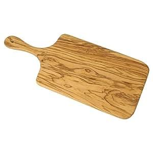 Bérard GM 54372 - Tagliere con manico, legno di ulivo