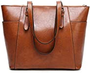 Women's Handbag Genuine Leather Tote Shoulder Bags Soft