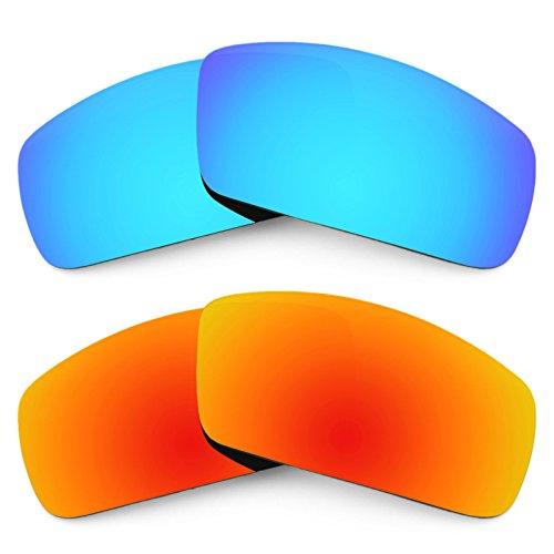 Revant Ersatzlinsen für Oakley Canteen (2006) Polarisiert 2 Paar Kombipack K002