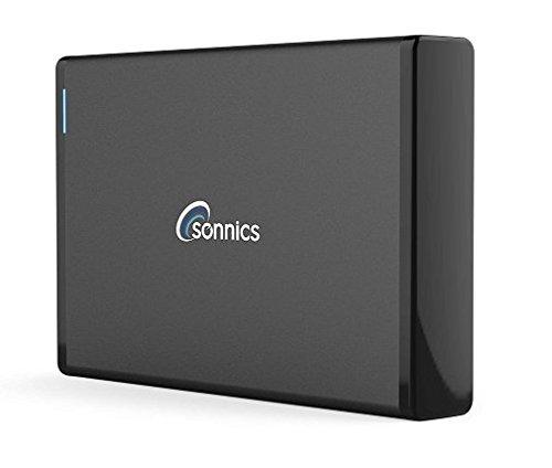Disco esterno USB 3.0ad alta velocità per Xbox One, PS4, computer Windows e Apple Mac Black 750 GB