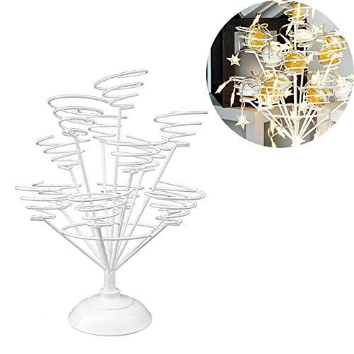d, süß macht es Draht Spiral Design, für 13 Cupcakes, 31 X 40 Cm X Single Durchmesser 8CM Dessert Bouquet Display Rack,White ()
