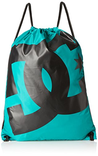 DC - Sacca Simpski Cinch da uomo, Uomo, Cinch Tasche Simpski, Tropical Green, 44 × 35 × 1 cm, 1.5 Liter