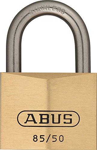 ABUS Messing-Vorhangschloss 85IB/50, 04837