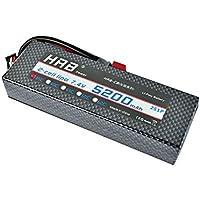 HRB LiPo Batterie 5200mAh 7.4V 35C 2S Hardcase pour RC Car Hélicoptères Avion Truck
