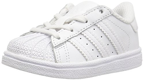 adidas Superstar I Sneaker Unisex Baby, Wei - Wei/wei/wei - Gre: 26.5 M EU Nio