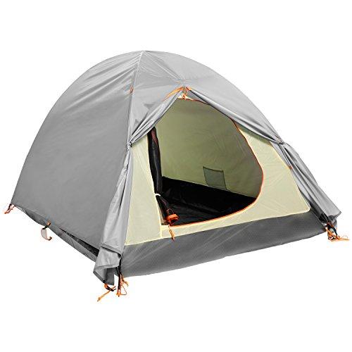 YUEBO Pop Up Zelt 2 Mann Sun Shelter Camping Strand Zelt f¨¹r 4 Saison Wasserdicht und leicht mit Tragetasche