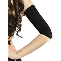 HugeStore Damen Frauen Compression Armstulpe Kompressions Armstrumpf Arm Shapers Schwarz preisvergleich bei billige-tabletten.eu