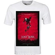 Camiseta para hombre con diseño retro del póster de la película Jóvenes ocultos, talla S a 3XL
