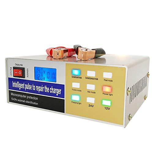 WOVELOT Cargador batería Coche Tipo Pulso Cable eléctrico