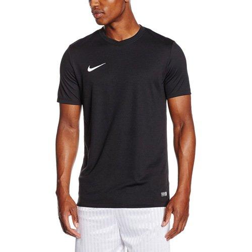 NIKE Herren Kurzarm Trikot Park VI, schwarz (Black/White), Gr. XL (Dri-mesh Kurzarm-t-shirt)