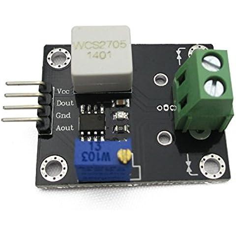 Wcs2705 Corrente sensore di rilevamento regolabile 5A breve/sovracorrente modulo di